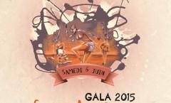 affiche gala 2015